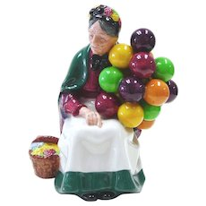 Royal Doulton  Porcelain Figurine- Old Balloon Seller