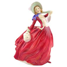Royal Doulton  Porcelain Figurine- Autumn Breezes