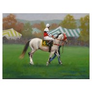 Oil Painting of a Horse by Beth Evans -  Equestrian Art