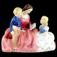 Royal Doulton  Porcelain Figurine- Bedtime Story