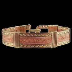 14kt Gold Filled & Copper Bracelet by Hebe Wiseman