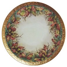 Hand Painted Bareuther-Waldsassen Cake Platter by Surber