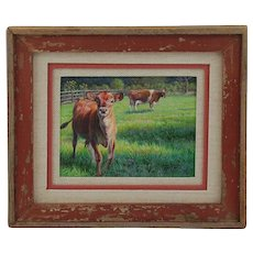 Original Acrylic Painting  by Linda Rossin - Miniature