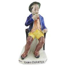 Antique Staffordshire Figurine- Tam O' Shanter