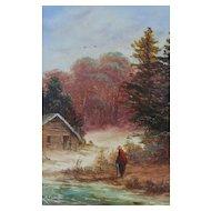 Original Landscape by Ron Cavalla - British Listed Artist