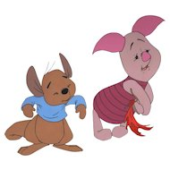 Piglet & Roo by Walt Disney Studios - Production Animation Cel