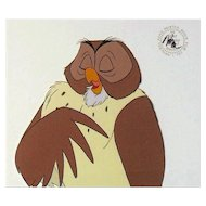 Owl by Walt Disney Studios - Production Animation Cel