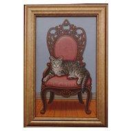 Queen of the House, Original Acrylic- Sue Wall