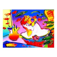 Daydream, Color Serigraph by Peter Max