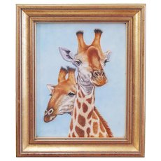 Original Miniature Painting by Beverly Abbott - Mates
