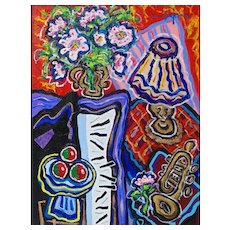 Afternoon Harmony in Three Shades - Berge Missakian