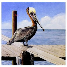 Original Oil Painting by Lauri Waterfield Callison- Miniature