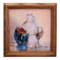 Original Oil Painting by Debra Keirce- Miniature