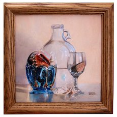 Original Oil Painting by Debra Keirce- Miniature