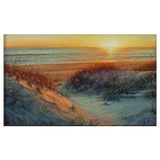 Original Pastel Painting  by Lori Goll - November Dawn
