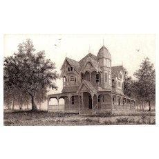 """The Painted Lady"" Original Etching by Listed Artist, David Hunter"