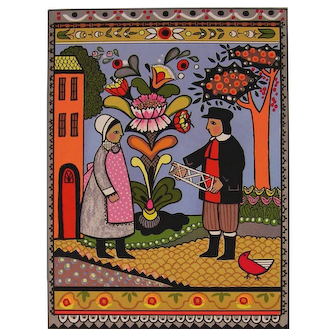Folk Art - The Game by Louise August