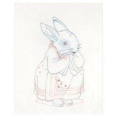 The Tale of Peter Rabbit & Benjamin Bunny-Animator's  Pencil Drawing