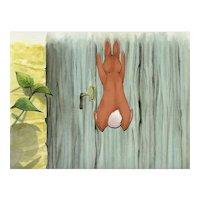 Peter Rabbit- The Tale of Peter Rabbit & Benjamin Bunny-Production Animation Cel