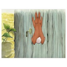 Peter Rabbit- The Tale of Peter Rabbit & Benjamin Bunny-Production Animation Cel