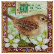 "Miniature Painting by Debby Faulkner-Stevens ""The Songs of Spring"""