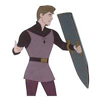 Prince Phillip by Walt Disney Studios - Production Animation Cel