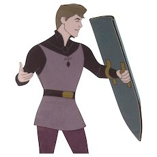 Prince Phillip by Walt Disney Studios - Production Animation Cel