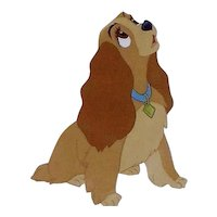 Lady by Walt Disney Studios - Production Animation Cel