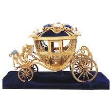 Faberge  Imperial Wedding  Coach