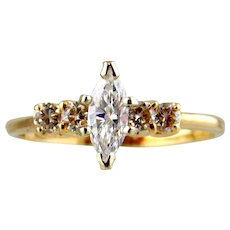 18kt Two-tone Gold Lady's  Ring