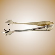 Sterling  Silver Sugar Tongs with Talons by Gorham