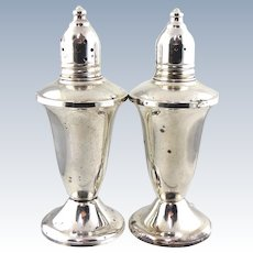 Vintage Sterling Salt and Pepper Set – Duchin Creation