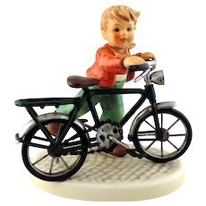 "M.I. Hummel Figurine #2319 ""First Two Wheeler"" by Goebel"