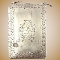 Antique Sterling Chatelaine Coin Purse
