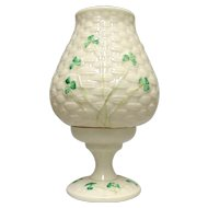 Shamrock Fairy Candle Lamp by Belleek