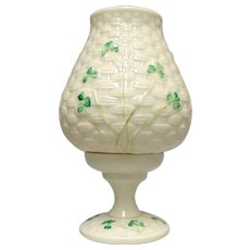 Shamrock Fairy Candle Lamp by Belleek