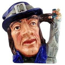 Royal Doulton Porcelain Jug:  Gulliver Toby Jug