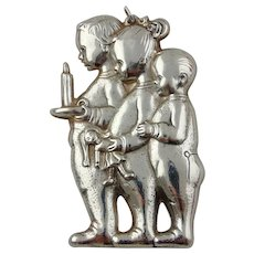 Sterling Silver 'Waiting For Christmas' Christmas Ornament by GORHAM