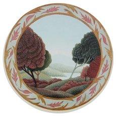 Miniature Acrylic Painting by Demaris L. Olson-Landscape