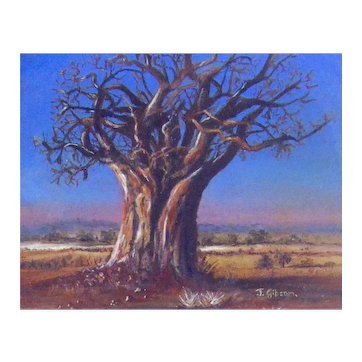 Original  Miniature Oil Painting by South African Artist, Joy Gibson