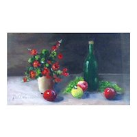 Miniature Oil Painting by Carolyn Gallimore-Still Life