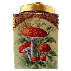 Mushroom Jar With Lid by Margaret Surber