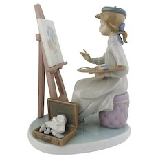 LLadro-Still Life (Young Girl Artist)