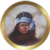 """Apache Boy"" Collectors Plate by Gregory Perillo"