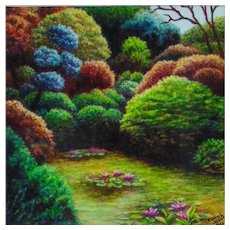 Miniature Colored Pencil Drawing by Kimberly Jansen