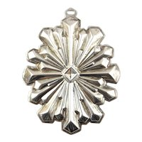 1979 Sterling Silver Christmas Star Ornament -Reed & Barton