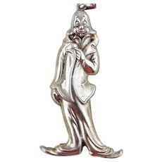 RM Trush Sterling Silver Ornament -Clown
