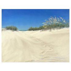 Original Pastel Painting by Lori Goll-Outer Banks, NC