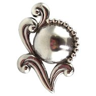 Sterling Silver Pin, Los Castillo