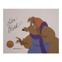 Auntie Shrew Original Production Cel by Don Bluth Productions